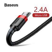 Кабель Micro Usb Baseus для зарядки Xiaomi Redmi Note 5 Pro samsung S7 Android, кабель Micro Usb для зарядки и передачи данных