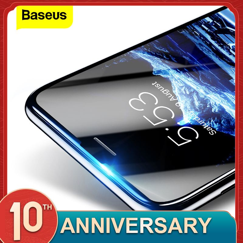 Baseus 3D 0.23MM Screen Protector Tempered Glass For IPhone 8 7 6 6s Plus Soft Edge Narrow Side Toughened Glass Film For IPhone8