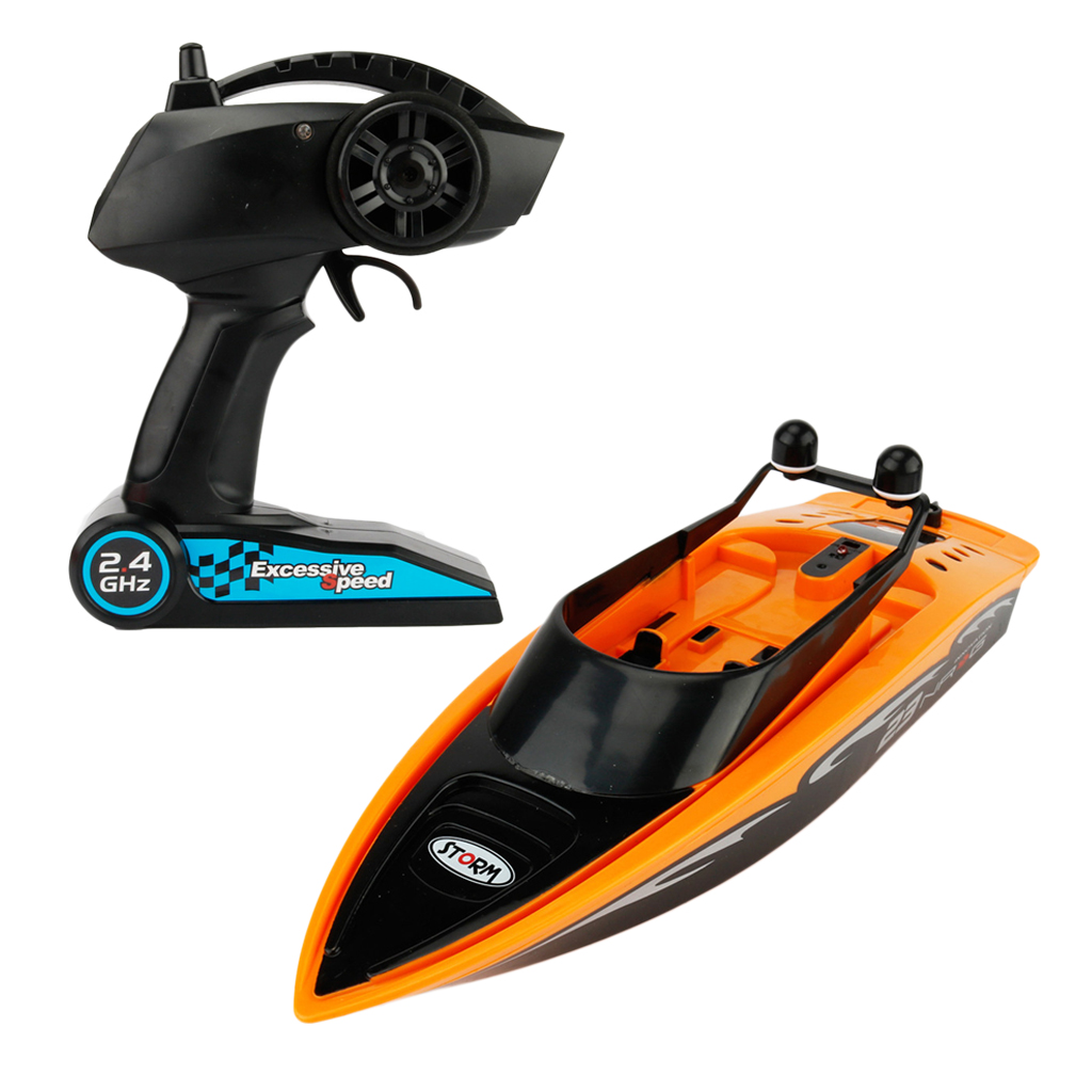 3323 RC Boat  Radio Remote Control Mini RC Speedboat RC Racing Boat Toy