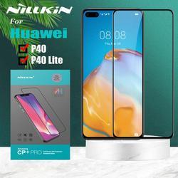 Huawei P40 szkło hartowane Huawei P40 Lite szkło ochronne Nillkin 9H szkło ochronne dla Huawei P40/P40 Lite