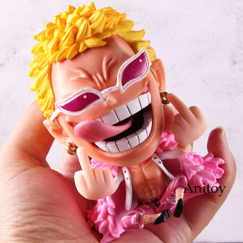 Donquixote Doflamingo Anime One Piece Figure One Piece Action Figure PVC Collectible Model Toy