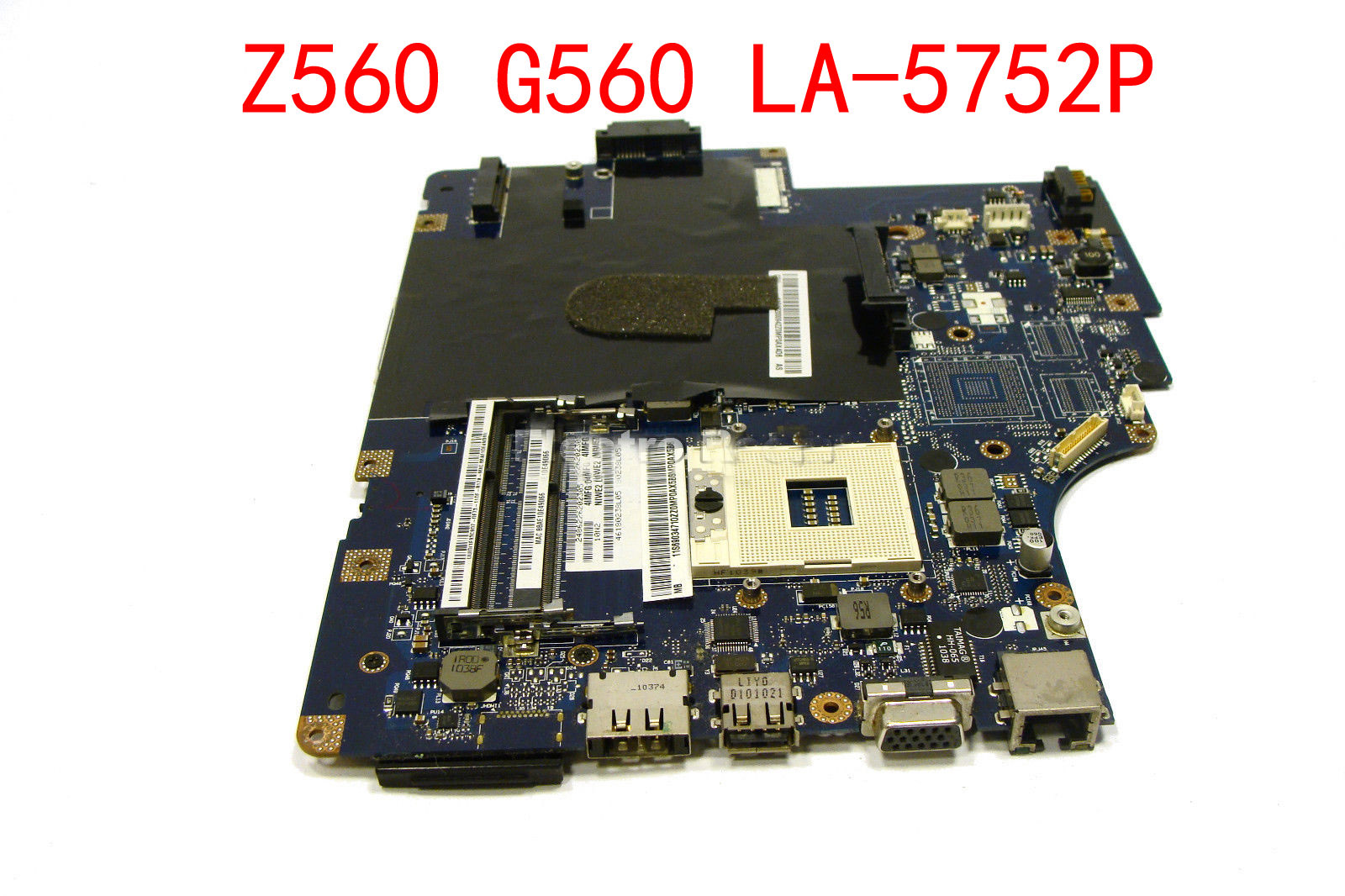 HOLYTIME laptop Motherboard/mainboard for Lenovo Z560 g560 LA-5752P HM55 DDR3 integrated graphics card 100% tested Fully