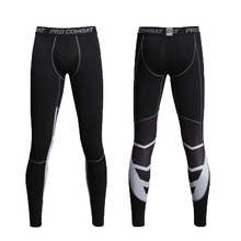 Running Leggings Basketball Pants Tight Fitness-Trousers Compression Sport Men's Workout