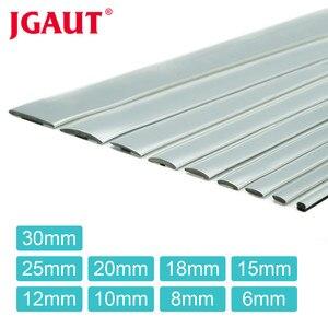 Image 1 - Car Styling Door Molding Trim 5meters x 4/6/8/10/12/15/18/20/25/30mm Automotive Sticker Chrome Strip Rearview Mirror Handle