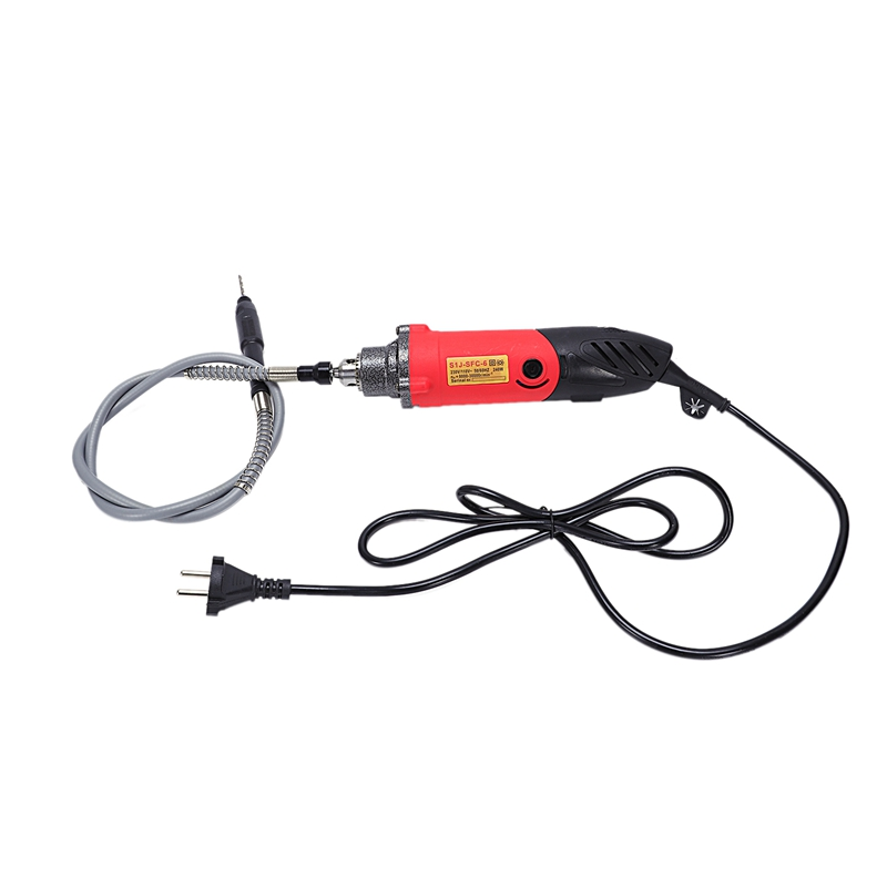 Eu Plug,240W Electric Mini Drill For Style Rotary Power Tool Engraver Drilling Machine Grinder Abrasive Home Diy Tool