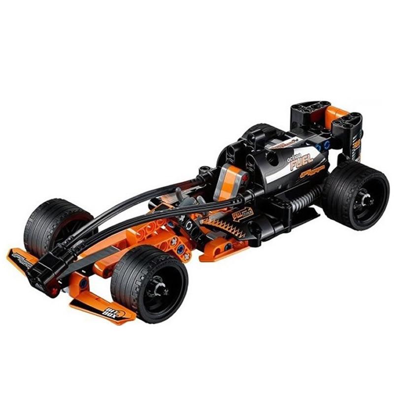 Kota F1 Balap Mobil Teknik Mobil truk Blok Bangunan batu bata Mainan Untuk Anak-anak hadiah