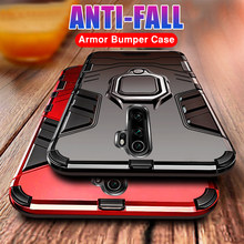 Luxury Armor Metal Ring Phone Case For Xiaomi Redmi 5 Plus 6 Pro 7A 8A Note 5 6 7 8 Pro Shockproof Back Cover Soft Silicone Case(China)