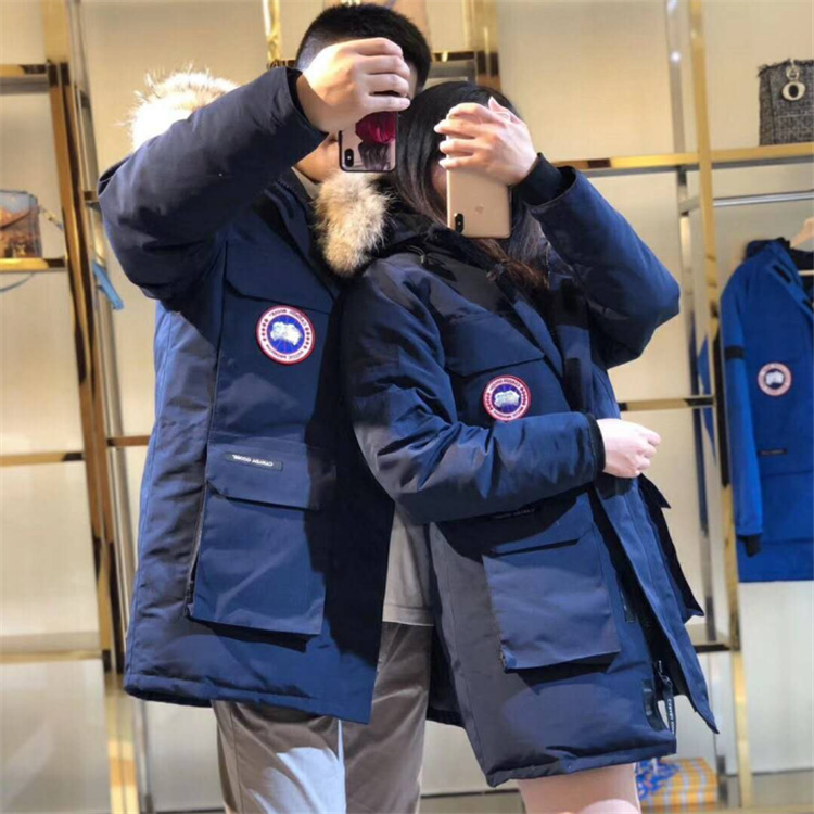 Новинка 2020, Высококачественная куртка из гусиного пуха, женская одежда, повседневная одежда для мужчин и влюбленных, экспедиция 08|Парки| | АлиЭкспресс
