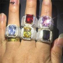 Кольцо мужское кольцо с фианитом серебро 925 пробы 5 цветов