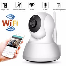все цены на Wireless 1080P Wifi IP Camera indoor Home Security IP Pan/Tilt Camera Baby Monitor CCTV Surveillance WIFI Camera Two way Audio