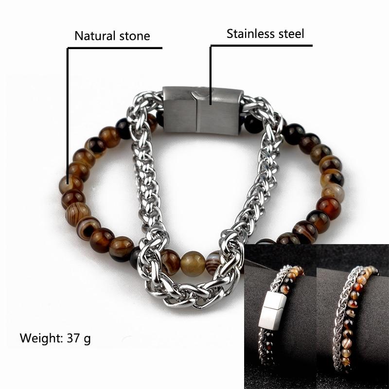 Chain natural stone