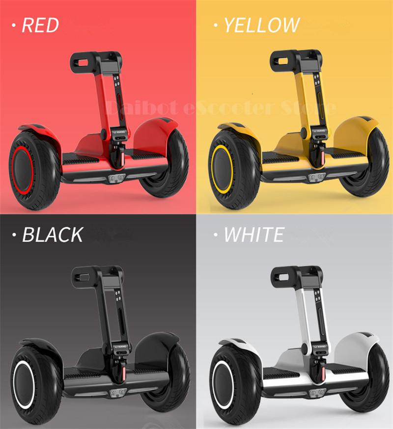Daibot Portable Electric Scooter Self Balancing Scooters 10 Inch Off Road 250W2 36V Hoverboard For Kids APPBluetooth Speaker   (24)