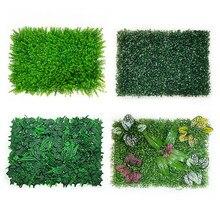 40x60cmdecoração de casa planta gramado artificial decoração de parede interior ao ar livre