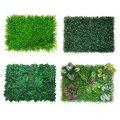 Искусственное пластиковое растение, газон, зеленое растение, настенное растение, садовое, уличное, внутреннее, для дома, магазина, фон, искус...