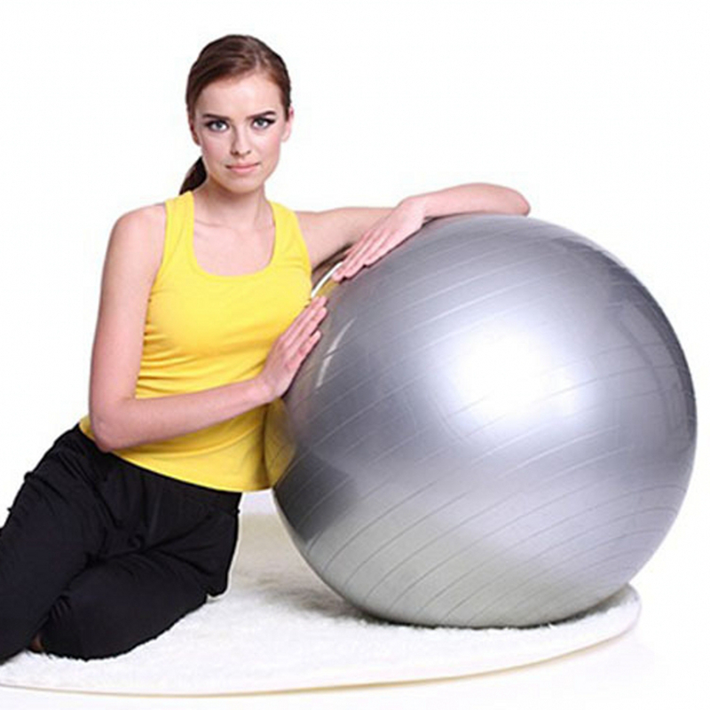 Anti-slip Exercise Ball Suitable for Pilates/Yoga/Gym to Build Muscles Strength 2