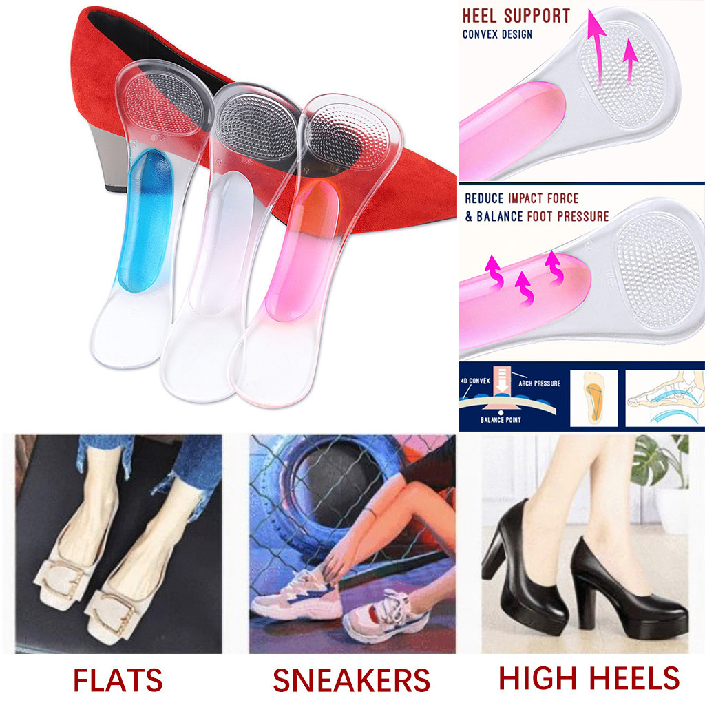Professional Orthopaedic Insoles Reduce Stress From Longtime Standing Walking Massage Relax Foot Memory Sponge Comfortable Male
