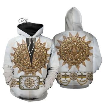 PLstar Cosmos Elvis Presley Legendary HipHop Hot Singer NewFashion Funny Pullover 3DPrint Zipper/Hoodies/Sweatshirts/Jacket/ A-4