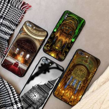 Yinuoda splendid church Phone Case cover For iPhone X 8 7 6 6S Plus XS MAX 5 5S SE XR 11 12 Pro Promax coque image