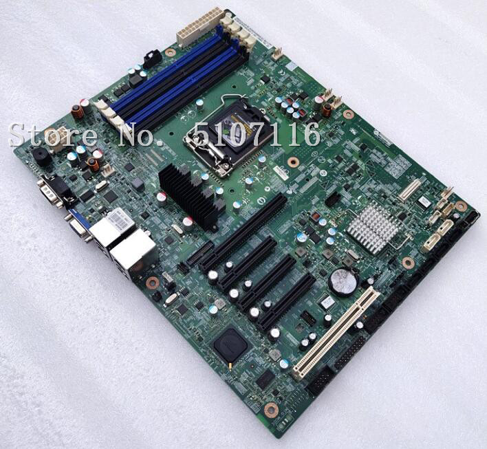 desktop motherboard for S1200BTL 1155-pin single-channel server motherboard SATA3 supports <font><b>E3</b></font>-<font><b>1230</b></font> <font><b>V2</b></font> will test before shipping image