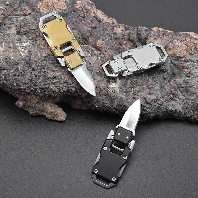 Маленький складной нож трансформеры, открытый складной нож, мультиплексный портативный нож с ключом для улицы|Ножи|   | АлиЭкспресс