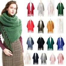 High Quality Women Scarf Autumn Winter Warm Cashmere Scarf L
