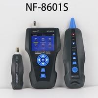 NOYAFA NF 8601S TDR Tester Network Cable Tester Tracker RJ45 RJ11 lan cable length telephone tracker+POE+PING+Voltage detector