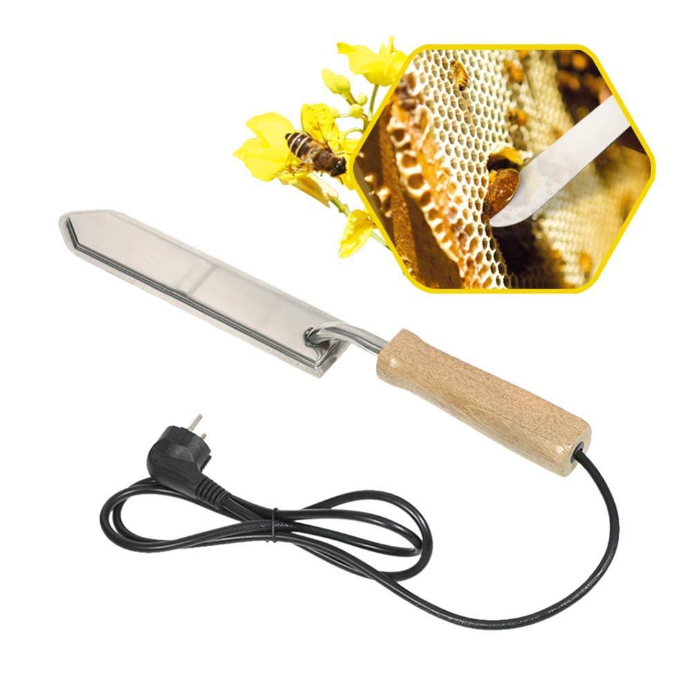 Bee Tools Power Cut Honey Knife Electric Heating Scraping Honey Cutter Beehive Beekeeping Bee Equipment US/EN Standard