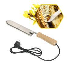Herramientas de abeja con cuchillo para cortar miel, cortador de miel eléctrico con calefacción, equipo de apicultura US/EN
