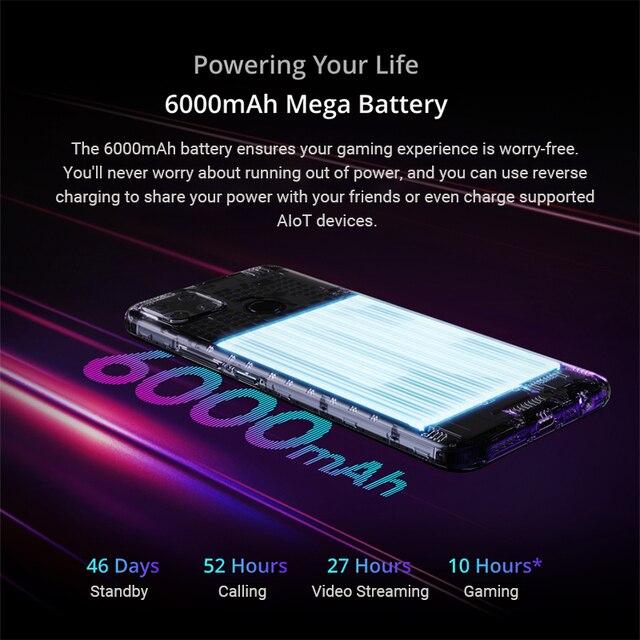 Realme narzo 30a versão global smartphone 4gb 64gb helio g85 6.5 Polegada fullscreen 13mp ai câmera dupla 6000mah 18w carga rápida 4