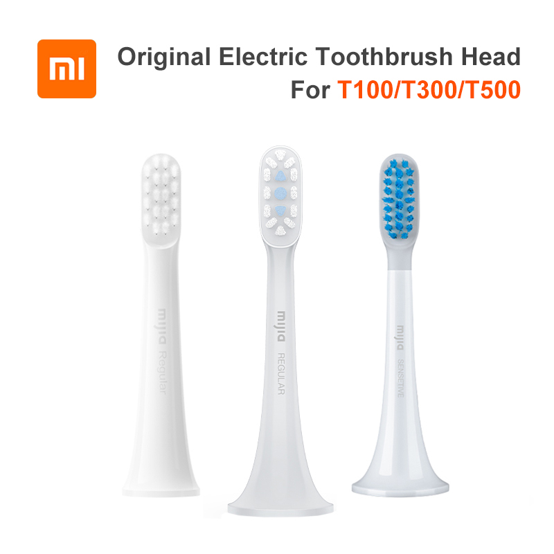 Насадки для зубной щетки XIAOMI MIJIA T100, T300, T500, 3 шт.