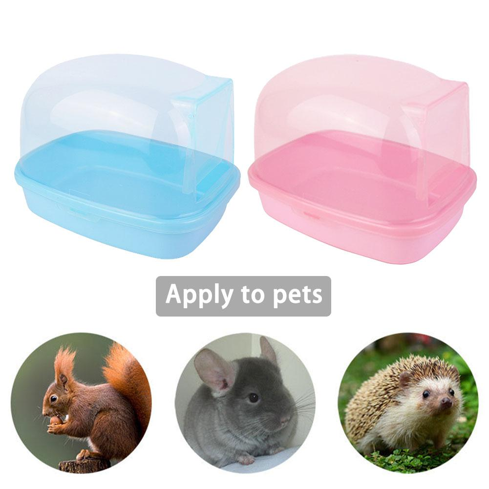 AUGKUN Chinchilla Bathroom Shower Room Squirrel Hedgehog With Door Large Bath Room Transparent Sauna Room Supplies
