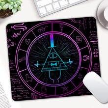 Controle do mouse do mousepad da gravidade, mousepad impresso para computador jogos