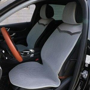 Image 2 - 1 חזרה או 2 קדמי לנשימה רכב מושב כרית/3D אוויר רשת רכב כיסוי מושב מחצלת fit ביותר מכוניות משאיות SUV להגן על מושבי