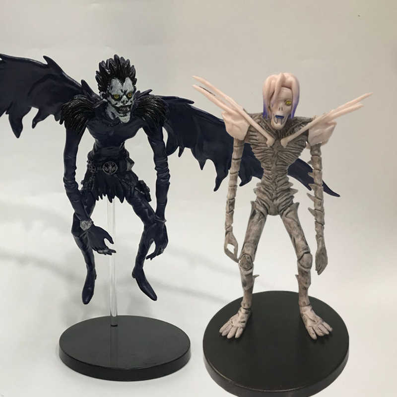 Anime Game Death Note Action Figure Ryuk Ryuuku Rem Figure PVC Deathnote Ryuuku Rem Toys Model Doll Statue for Children