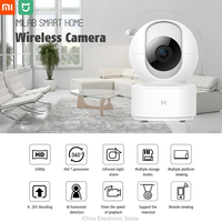 Update Xiao mi mi jia Chuang mi 1080P HD Wireless IP Kamera 360 Winkel CCTV WiFi Pan-Tilt nachtsicht Webcam Für mi Smart Home