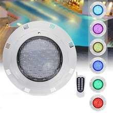 35 Вт RGB светодиодный светильник для бассейна 360 светодиодный IP68 Водонепроницаемый AC/DC12V-24V открытый RGB подводный светильник для пруда светодиодный Piscina Luz точечный светильник