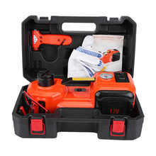 Oversea 5Ton 12V DC Automotive Car Electric Hydraulic Floor Jack Lift Garage and Emergency Equipment Auto Lifting Repair