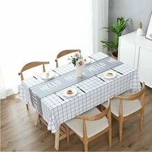 Cloth art  tablecloth Waterproof Boreal Europe style Tea table household  table cloth desk PVC  outdoor Table linen antifouling цена 2017