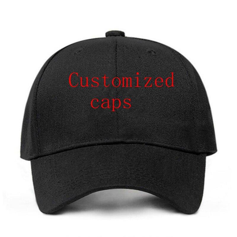 Customized Baseball Caps Hip Hop Cotton Men Snapback Hat Fashion Custom Made Dad Hat