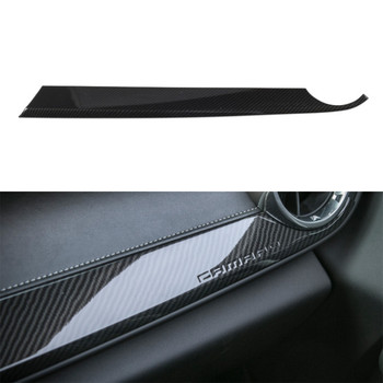 For Chevrolet Camaro 2017+ Co-Pilot Front Panel Cover Stickers ABS Protective Decals Car interior Accessories Stylings