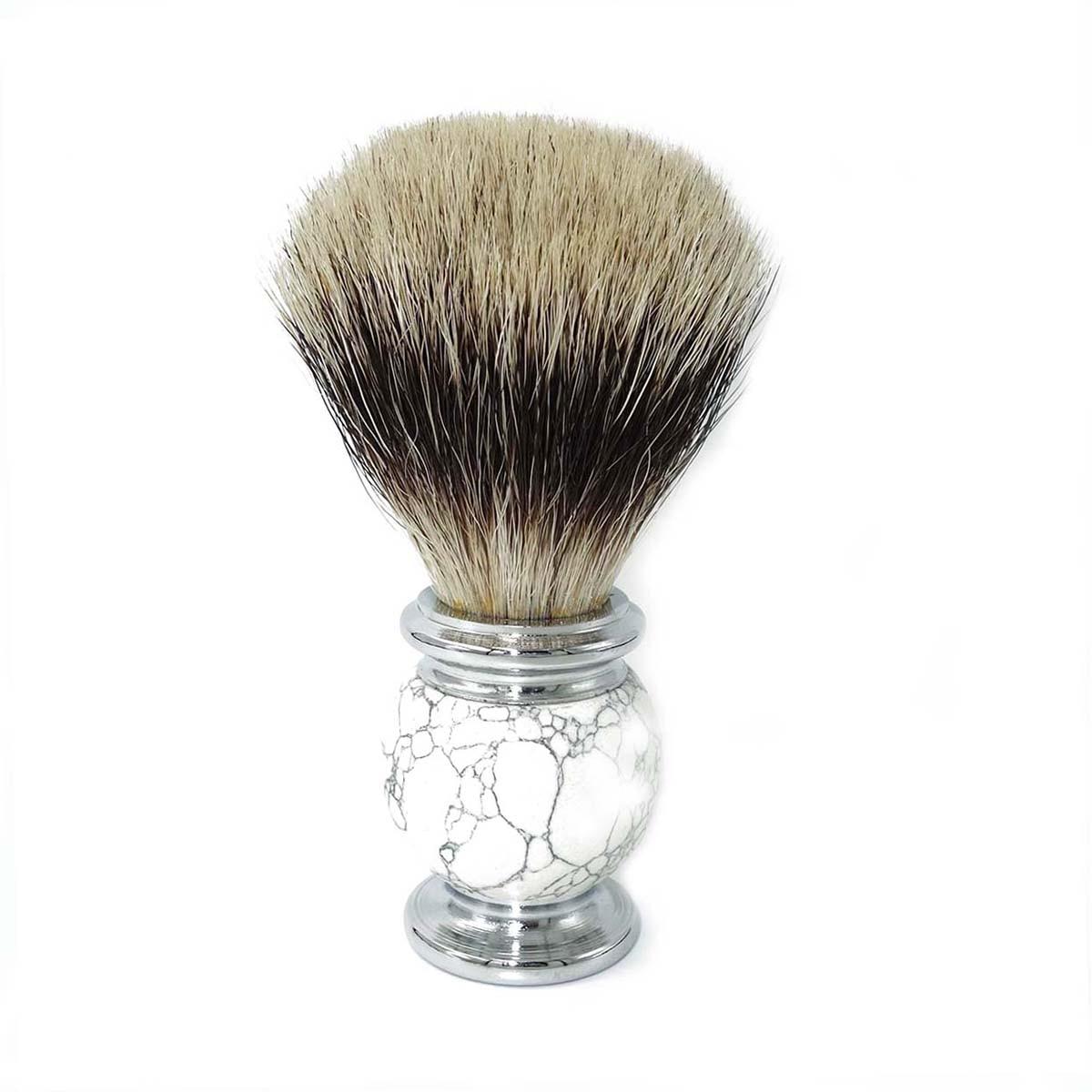 para homens molhado barbear com natural branco 05