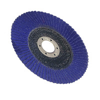 50pcs 80 Grit Metal Flap Sanding Discs Wheel Angle Grinder Rotary Polishing Tools Metalworking Abrasive Tools 100mm