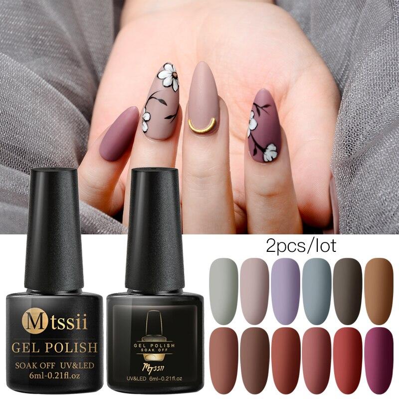 Pure UV LED Nail Gel Polish Set Primer Matte Top Base Coat Gel Varnish Semi Permanent Nail Art Manicure Gel Nail Polishes Nails