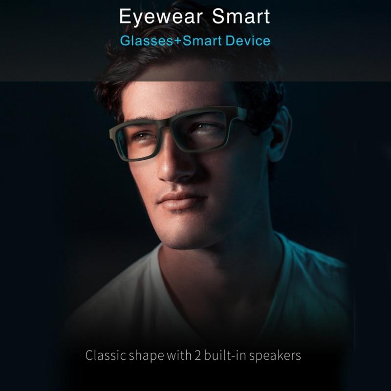 2020 haut de gamme lunettes intelligentes sans fil Bluetooth mains libres appel Audio oreille ouverte Anti-lumière bleue lentilles lunettes de soleil intelligentes! - 2