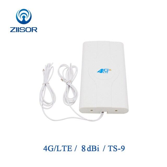 3 グラム 4 4g lte wifi TS9 アンテナ mimo パネルアンテナ屋内信号デュアルケーブル TS9 adapater z142 W4GTSJ (220X120)