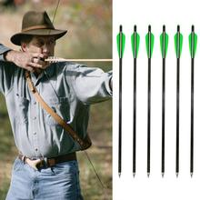 Free shipping 6pcs 8.8mm Pure Carbon Arrows Nock Adapter Arrow Anti-strike High Performance Recurve Bow