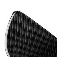 Car Carbon Fiber Rear Seat Door Handle Panel Trim Fit For Ford Mustang 2015 2018 anti shock effect