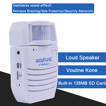 Motion Activated Sound Player, Long Playback Time, Recordable ,Point of Sale Advertising, Door Greeter, Entry Alert
