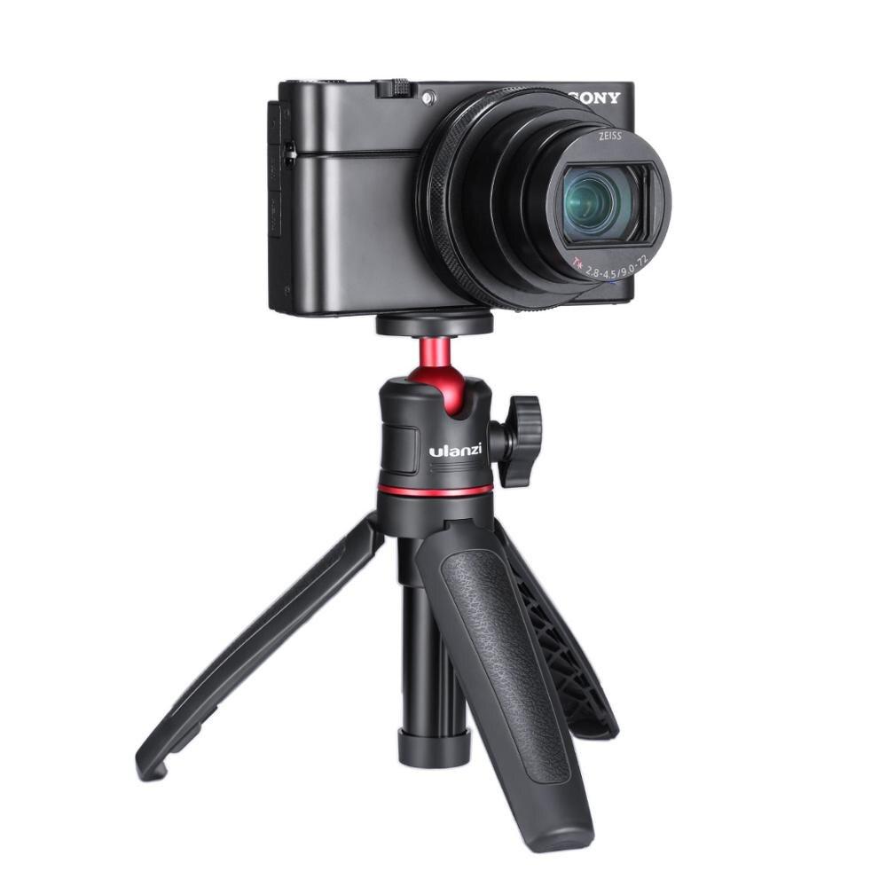Ulanzi MT-08 Extension Pole Tripod Mini Selfie Stick Tripod Osmo Pocket Vlog Kit for Canon G7X Mark III Sony RX100 VII A6400