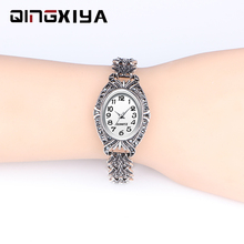 QINGXIYA Brand Luxury Women Dress Watches Fashion Design Ant